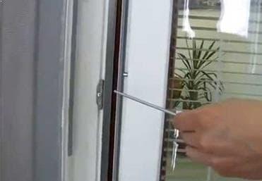 Langų ir durų reguliavimas
